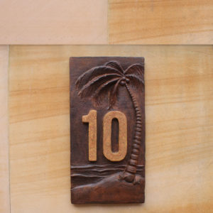 House Plaque - Palm Tree
