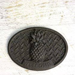 Welcome Door Plaque - Pineapple
