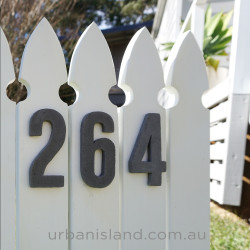 Small House Numbers